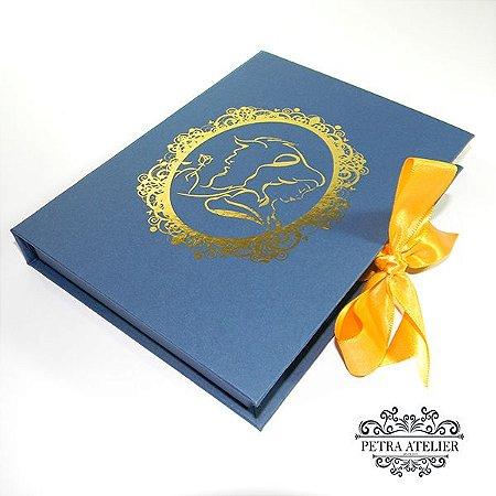Convite Box debutante - Mod. A Bela e a Fera