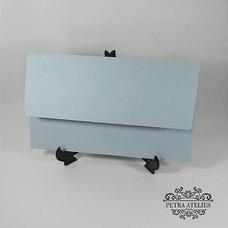 Envelope carteira azul serenity  Mod.EN4200 - 14,5x24cm