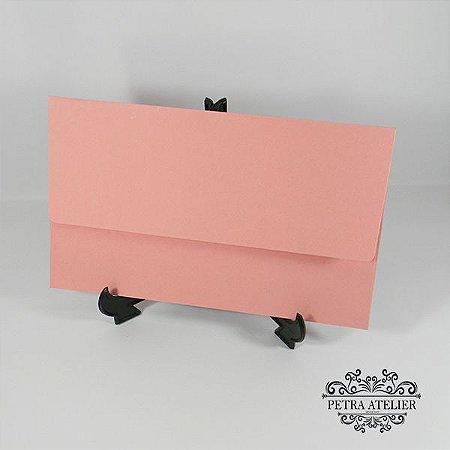 Envelope rosa chá para convites  Mod.EN4200 - 14,5x24cm