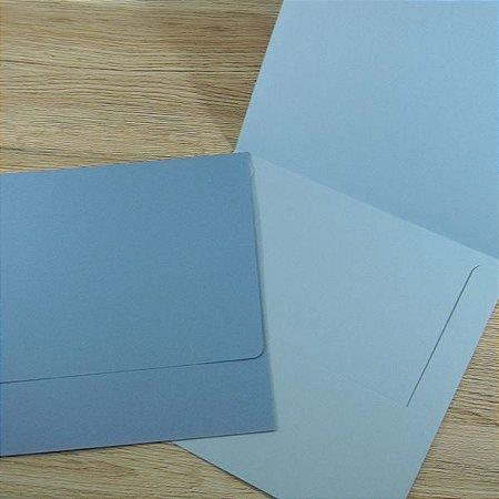 Envelope para convite azul serenity Mod.EN4000 - 19,5x19,5cm