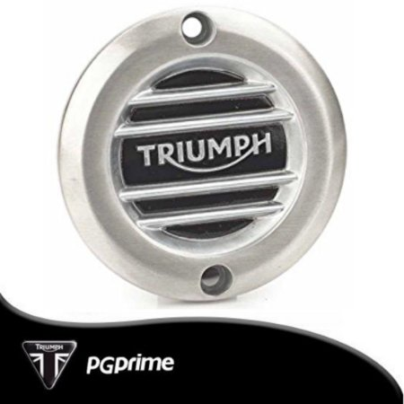 Emblema de Embreagem Escovado TriumphBonneville T120...