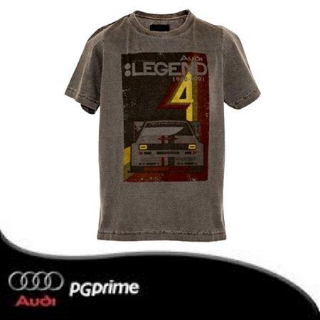 Camiseta Legend Infantil Heritage Audi