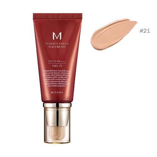 Missha M Perfect Cover Blemish Balm BB Cream #21 SPF 43 PA++++ 50ml