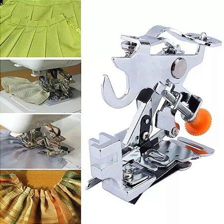Calcador Para Franzir Tecido Em Maquina De Costura Domestica Ruffler