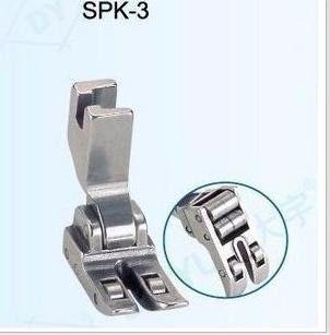 Calcador Com Roletes P/ Máquina De Costura Reta Industrial SPK-3