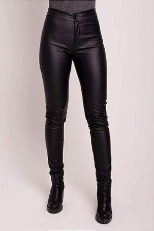 Calça Fake Leather