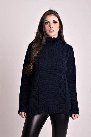Blusa  Vest Legging com Fenda