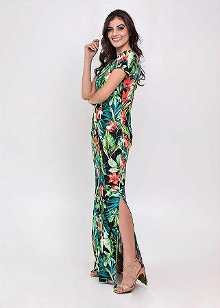 Vestido Longo Janet Florido