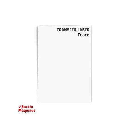 Papel Transfer Laser Fosco A4 - Pct 100