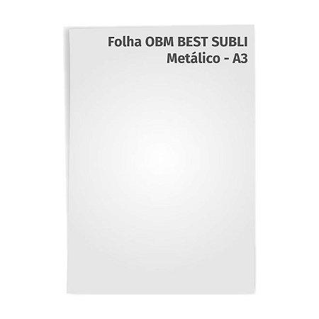 Folha OBM Best Subli PU Metálico A3
