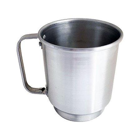 Caneca de Alumínio Chopp 450 ml Prata