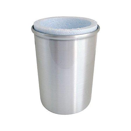 Porta Lata de alumínio com Isopor