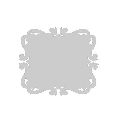 Porta Retrato arabesco MDF Branco 3 mm
