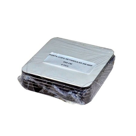 Kit Porta Copo MDF Quadrado