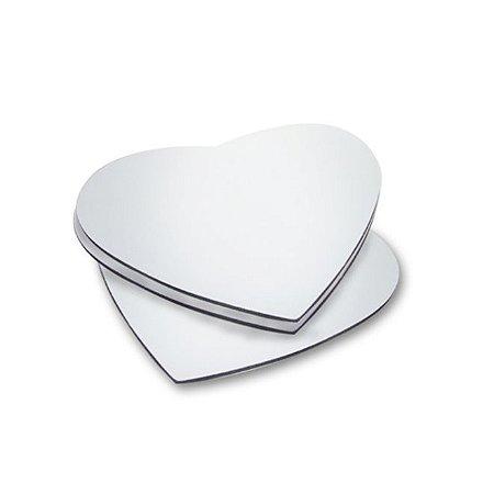 Mousepad Neoprene Coração (10 unidades)