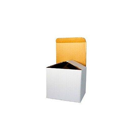 Caixa Caneca de Papelão Duro Branca para Sublimação