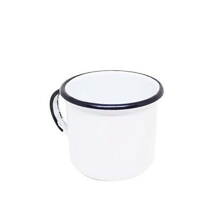 Caneca Esmaltada Ágata 360 ml para Sublimação