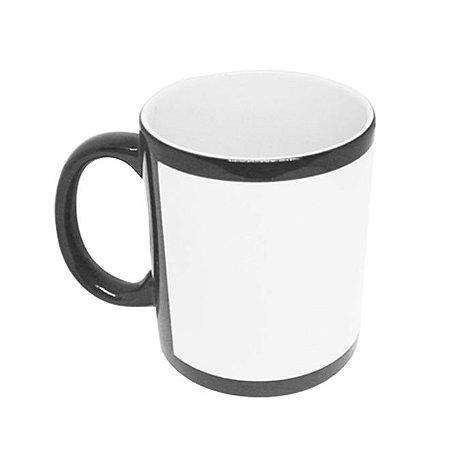 Caneca Porcelana com Tarja