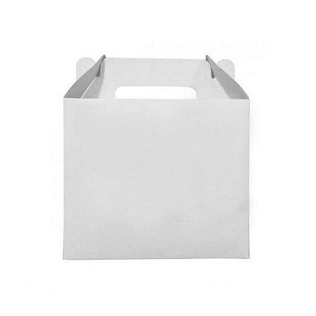 10 Caixas de Caneca Branca com Alça