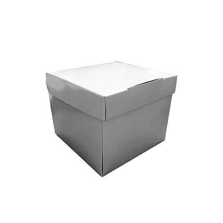 Caixa de Caneca Branca Semi montada