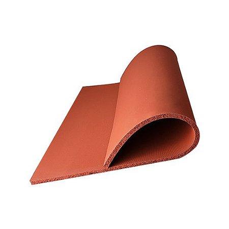 Manta de Silicone 10mm Prensa Térmica 40x40 cm