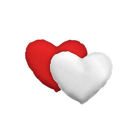 Capa de Almofada Coração vermelha