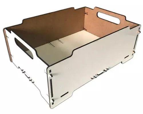 Caixa de MDF Organizadora Empilhável