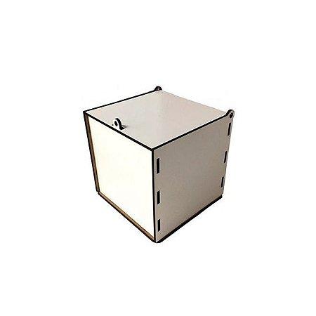 Caixa de Caneca MDF Encaixe-Cole (Transfer ou Adesivo)