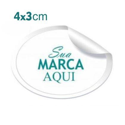 Etiqueta Adesiva 4x3cm Vinil Branco – Mod.: ADE43
