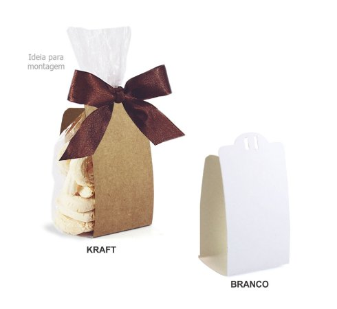 Embalagem para Biscoitos c/ 30 und - Liso - Mod.: EB1900
