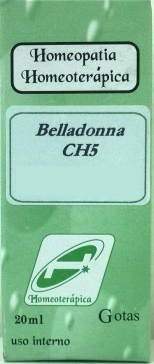 Belladonna CH 5 20 ml