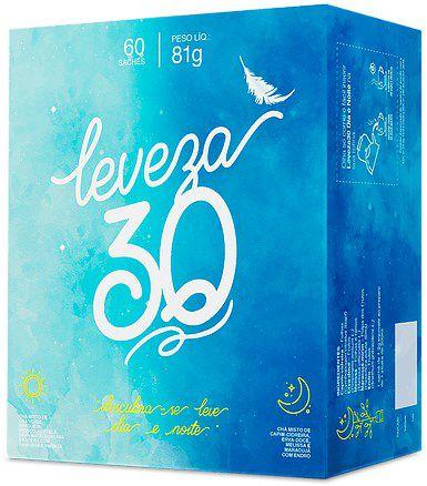 Chá Leveza 30 60 Sachês