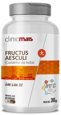 Castanha da India 500 mg 60 Cápsulas