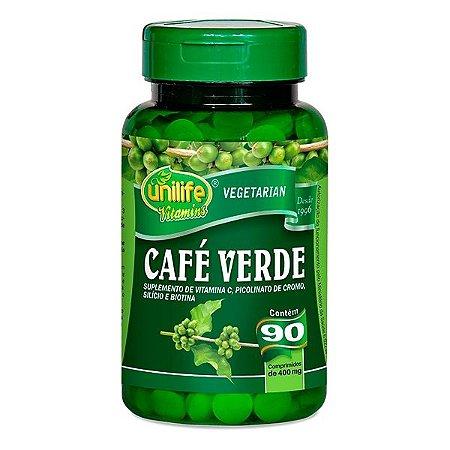 Café Verde 400 mg 90 Cápsulas