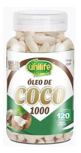 Óleo de Coco Desodorizado 1200 mg 60 Cápsulas