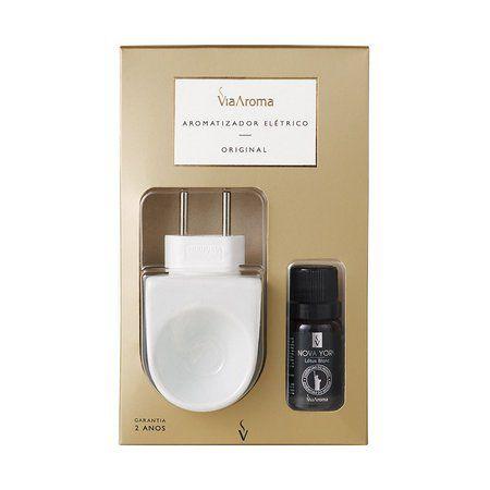 Aromatizador Elétrico Original Branco - Nova York (Lótus Blanc)