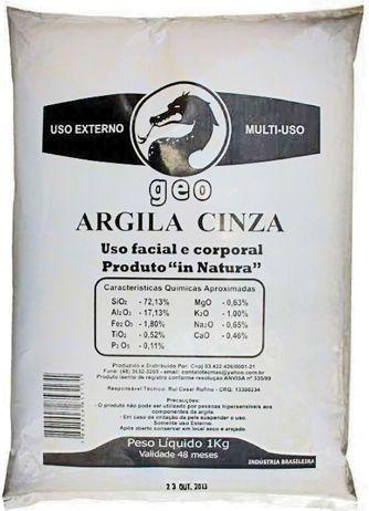 Argila Cinza 1000g