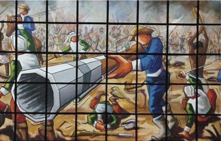 Giclée: Batalha dos Guararapes