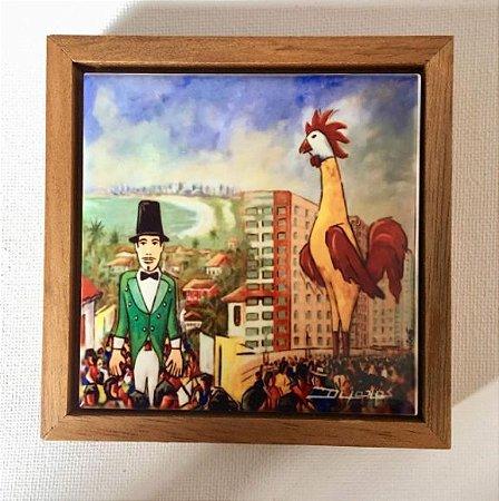 Cerâmica Emoldurada: Os Gigantes do Carnaval