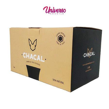 Carvão de Coco para Arguile Chacal 1Kg