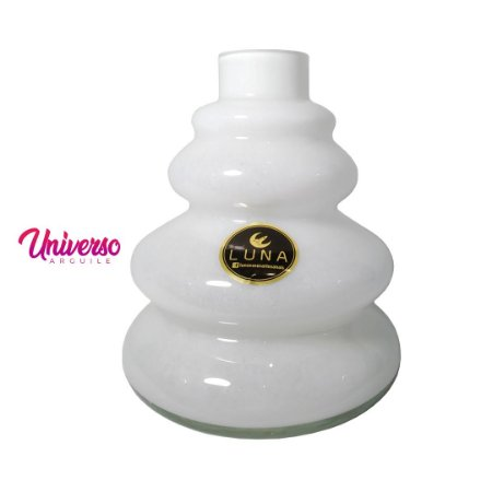 Vaso Base Jarro Luna Tower Branco