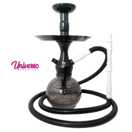 Kit Stem Orion Hookah Mini Loki Preto completo
