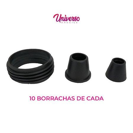 Kit Borrachas De Vedação Para Arguile Pequeno - 10 De Cada Modelo