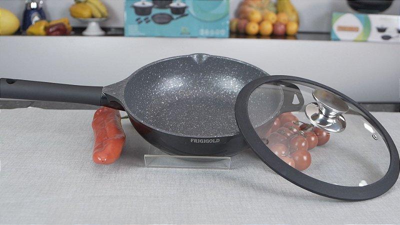 Frigideira Wok 24cm Frigigold Premium Fosca