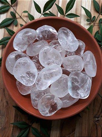 Quartzo Cristal Rolado - Unidade