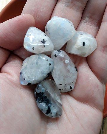 Pedra da Lua Rolada Indiana - Autêntica - 8gr