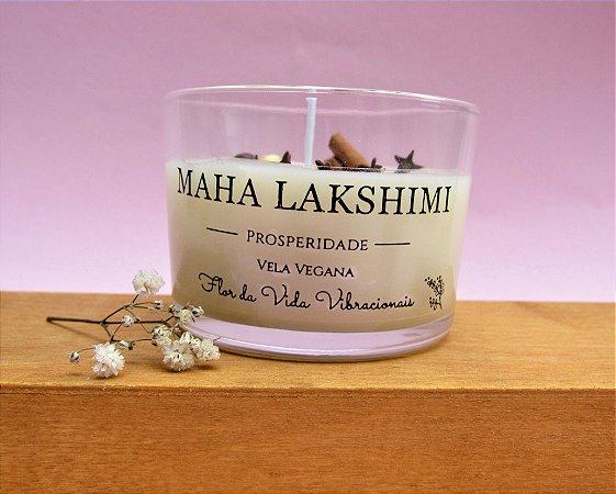Vela vegetal Maha Lakshimi - Prosperidade