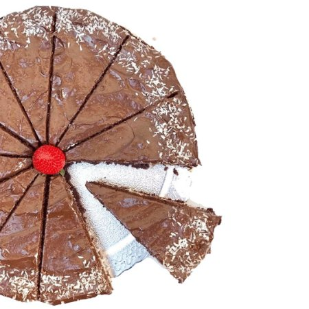Torta de Prestígio FIT - MINI
