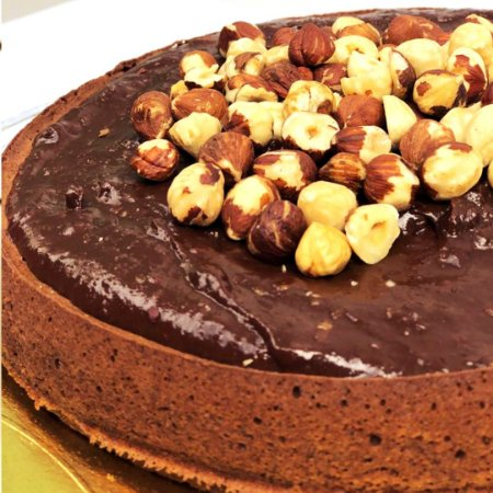 Torta de Avelã FIT