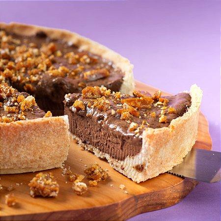 Torta Mousse de Chocolate com Crocante de Castanhas - 1,5kg